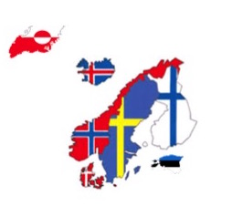 All Nordics flag maps